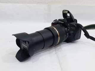 NIKON D5100 with AF 18-270mm