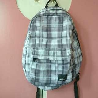Adidas Plaid Backpack (Authentic)