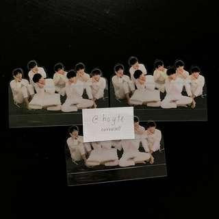 (WTS) BTS LOVE YOURSELF TEAR clear standee