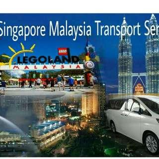 Transport to Malaysia with driver