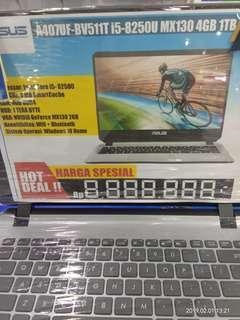 Laptop Asus A407UF i5 cicilan tanpa kartu kredit Dp Ringan