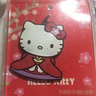 🚚 7-11 魯夫 Hello Kitty手機防塵塞+icash卡