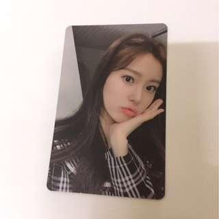 Iz*one Hyewon photocard Izone