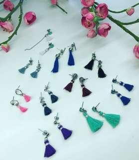 🚚 Earrings - Handmade Tassel Earrings
