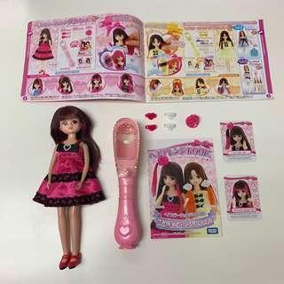 🚚 日本正版Takara Tomy Licca莉卡娃娃之繽紛變髮組合 附莉卡娃娃 配件完整無缺