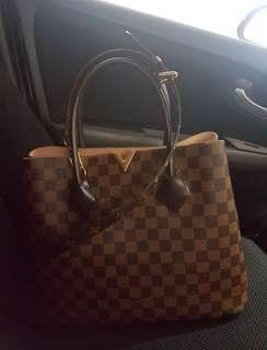 Louis Vuitton Damier Kensington with additional bag stripe Signature Logo