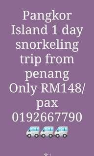 Pakej snorkeling P. PANGKOR