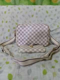 LV Azure Reporter and Bag for sale