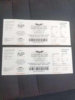 Dewa 19 Reunion Ticket -