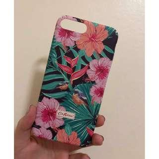 iPhone 8+ Floral Hard Case