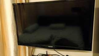 Toshiba Power TV 32 inch (faulty unit) can be used for spare part