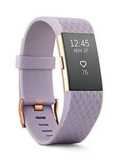 Fitbit Charge 2 - L with free extra S strap