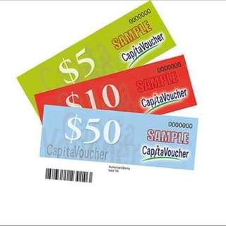 $190 Capitaland Mall Voucher for $170