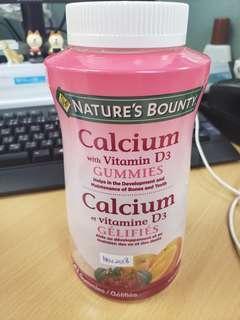 Nature's Bounty 鈣及維他命 D3 軟糖