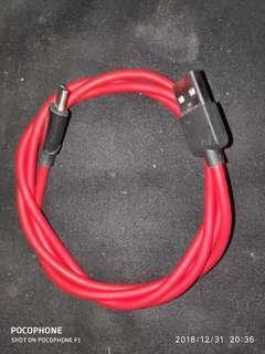 Umidigi Crystal Kabel Charger Type C Support QC 3.0 Original
