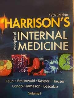 🚚 Harrison's Internal Medicine Volume I