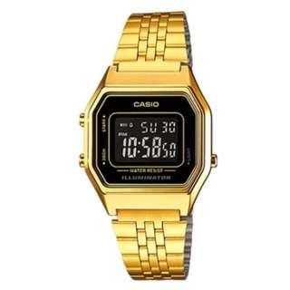Casio Classic Women's Gold Stainless Steel Strap Watch