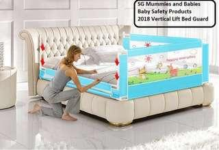 2018 Vertical Bed Guard for baby/ Toddler