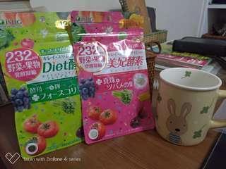 日本帶回Diet酵素十美妃酵素大特價