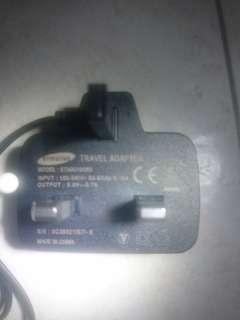Samsung Charger 3pins wall plug Micro