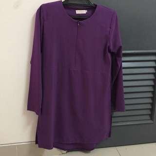 Scarffeya long blouse