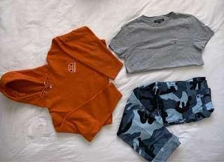 Urban put fitters & Tommy Hilfiger top and pants BUNDLE!