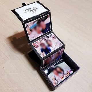 Pop-up Photo Box (Valentine's Day Gift, Birthday, Monthsary, Anniversary, etc)