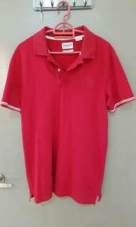 Timberland Red Polo T.