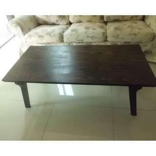 As new solid wood coffee table for sale!