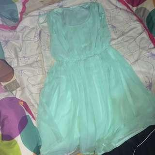 Teal Dress (Size S)