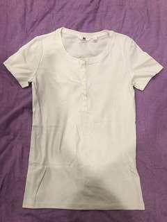 🚚 特價 - 短袖白上衣
