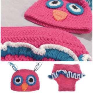 Baby Owl crochet Costume