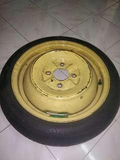Spare tyre pcd 114.3 4h 15""