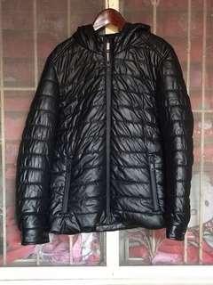 Zara winter leather jacket