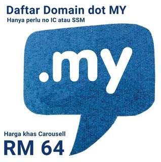 Daftar Domain Name dot MY #mynic