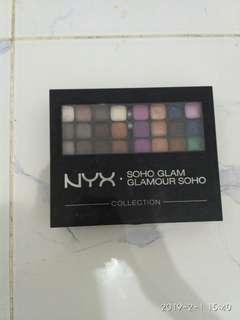 #CNY2019 Nyx Soho Glamour Palette Complete