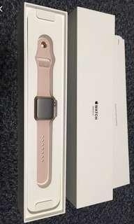BN Apple watch series 3 pink sand