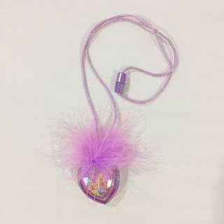 glowing princess necklace