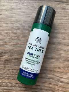 The Body Shop's Tea Tree Night Lotion