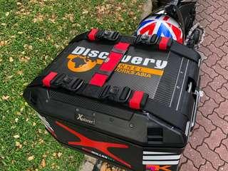 Customized Side Pannier Top Box Strap Carrier Multi Function KTM