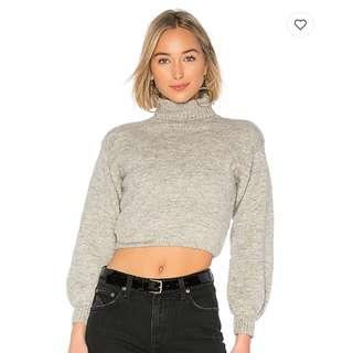 *In Stock* Cropped grey sweater