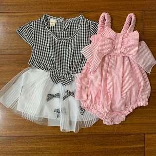 Dress + Romper Set