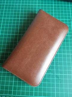 Brown Wallet Phone Slot