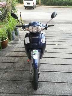 Honda Wave 100 - Dark Blue