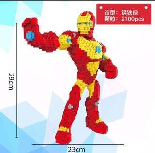 Ironman Nano Blocks