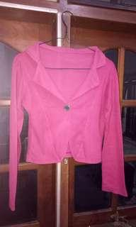 Purple magenta outer