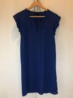Dress Biru H&M