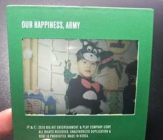 WTB Suga / Yoongi season greeting childhood film photocard