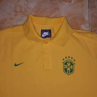 Polo shirt nike brazil original