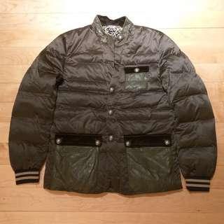 Comme des garcons style Korean olive jacket